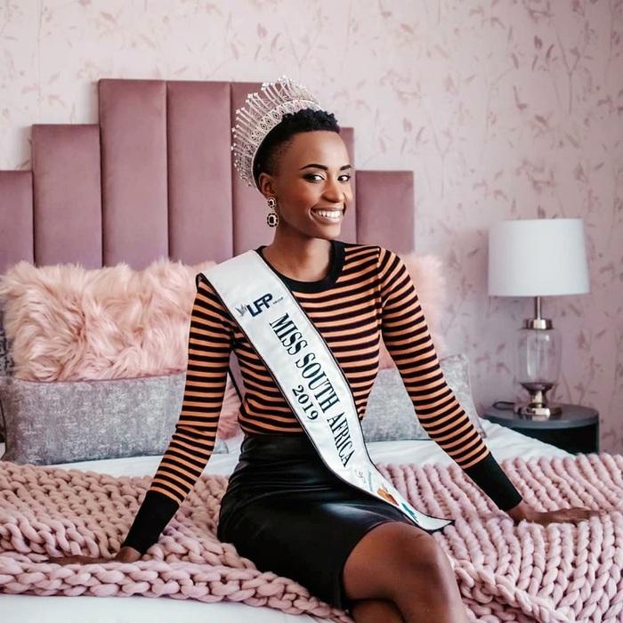 Mỹ nhân tóc ngắn Nam Phi đăng quang Hoa hậu Hoàn vũ 2019 - Ảnh 6.