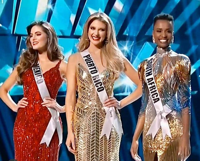 Mỹ nhân tóc ngắn Nam Phi đăng quang Hoa hậu Hoàn vũ 2019 - Ảnh 1.