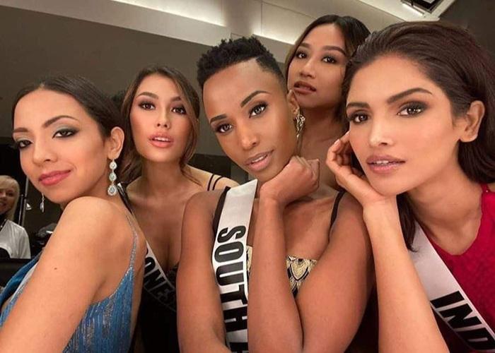 Mỹ nhân tóc ngắn Nam Phi đăng quang Hoa hậu Hoàn vũ 2019 - Ảnh 3.