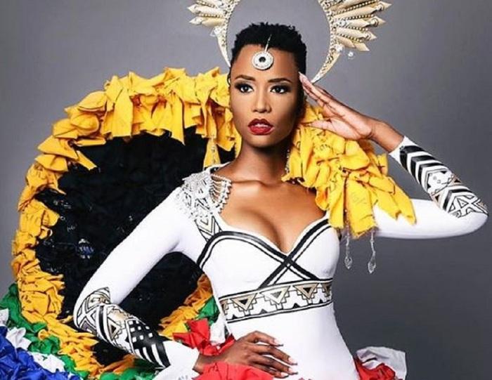 Mỹ nhân tóc ngắn Nam Phi đăng quang Hoa hậu Hoàn vũ 2019 - Ảnh 4.