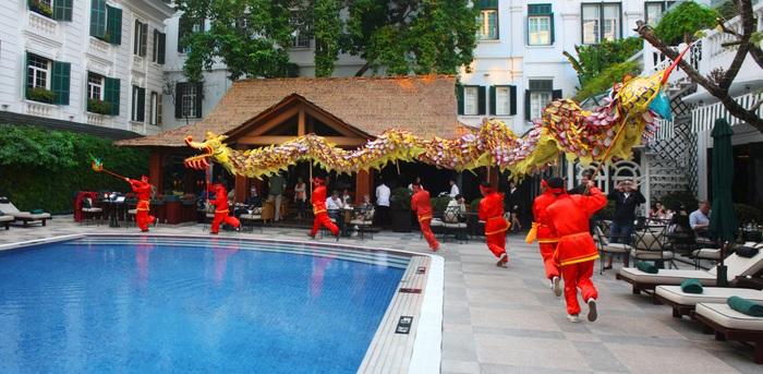 Đón tết cổ truyền tại khách sạn Metropole Hà Nội - Ảnh 1.