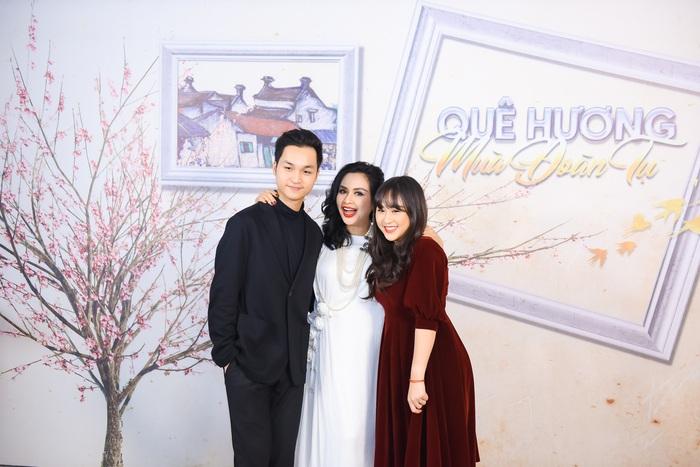 Ba mẹ con NSƯT Thanh Lam, Đăng Quang, Thiện Thanh