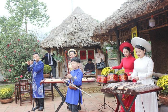 Một tiết mục âm nhạc truyền thống Việt