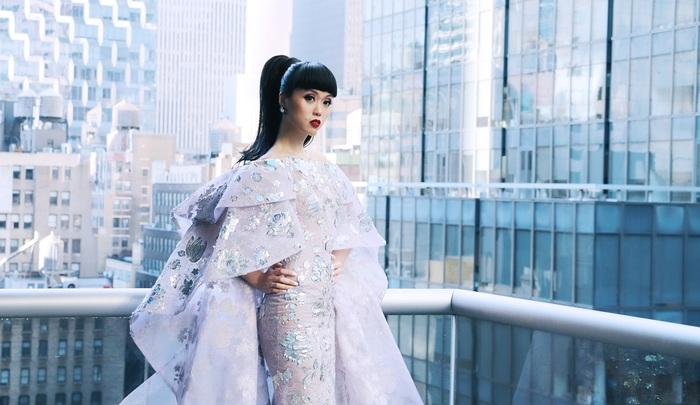 Jessica Minh Anh làm show thời trang thân thiện môi trường tại Mỹ - Ảnh 5.