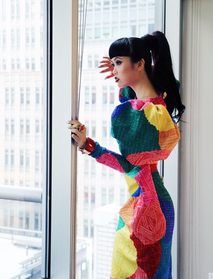 Jessica Minh Anh làm show thời trang thân thiện môi trường tại Mỹ - Ảnh 6.
