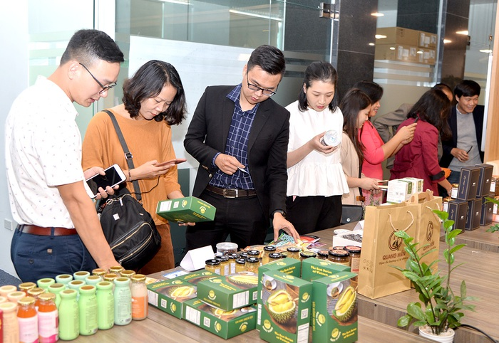 Chương trình giới thiệu các sản phẩm nông sản vùng miền được tổ chức để quảng bá sản phẩm