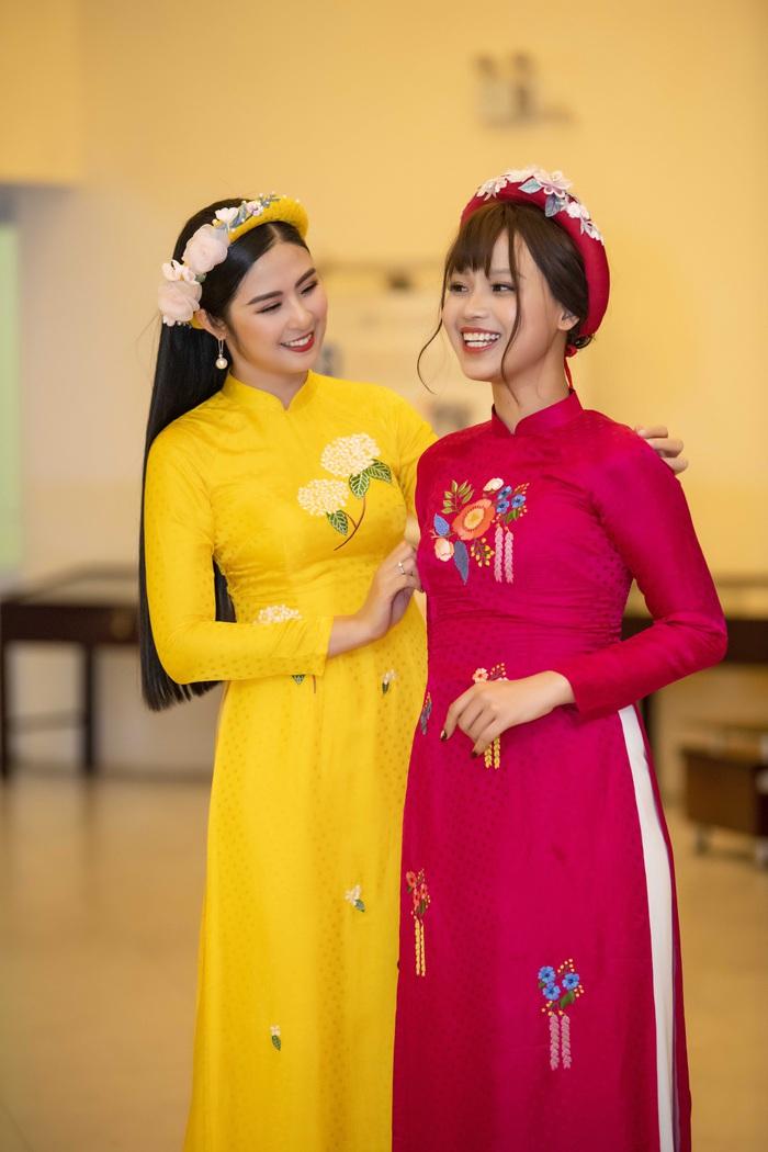 Ngọc Hân cùng dàn mỹ nữ diễn áo dài vì trẻ em nghèo - Ảnh 5.