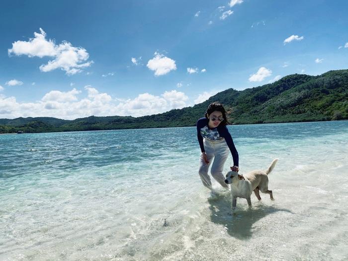 Á hậu Yan My thả dáng tại Philippines - Ảnh 3.