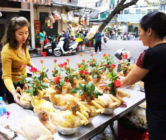 Thực phẩm tăng vài giá trong những phiên chợ cuối năm