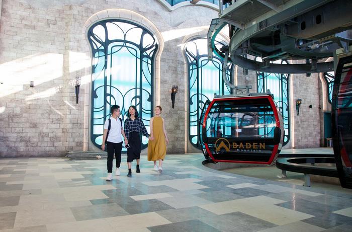 """Khai trương hệ thống cáp treo sở hữu kỷ lục """"Nhà ga cáp treo lớn nhất thế giới"""" tại Tây Ninh - Ảnh 4."""