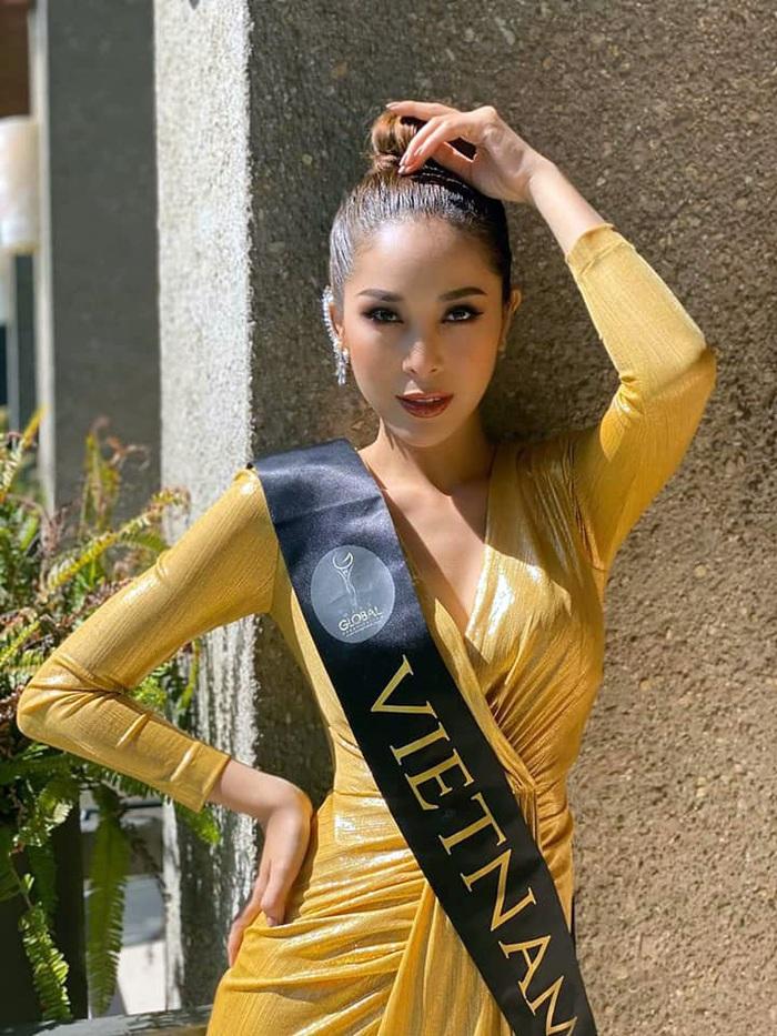 """Người đẹp Czech đăng quang Hoa hậu Toàn cầu, Mỹ Duyên vào Top 11 nhưng thí sinh Colombia mới gây """"bão"""" scandal - Ảnh 3."""