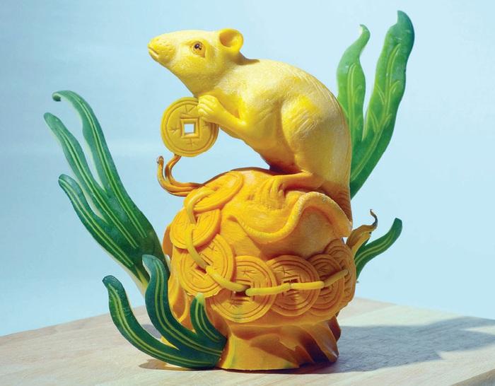 """""""Đôi bàn tay vàng"""" tạo nên những chú chuột vàng - Ảnh 4."""