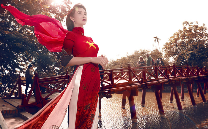 Năm 2020: Áo dài Đỗ Trịnh Hoài Nam sẽ đến với nhiều phụ nữ - Ảnh 2.
