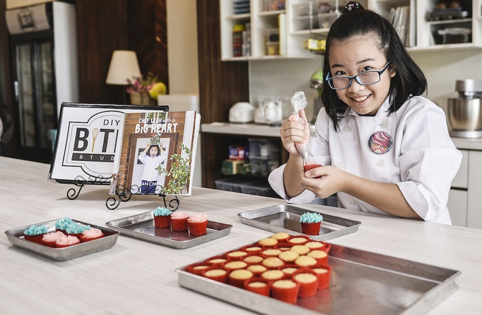 Leah Choy muốn trở thành đầu bếp từ lúc 3 tuổi vì mong kiếm tiền chữa bệnh cho em