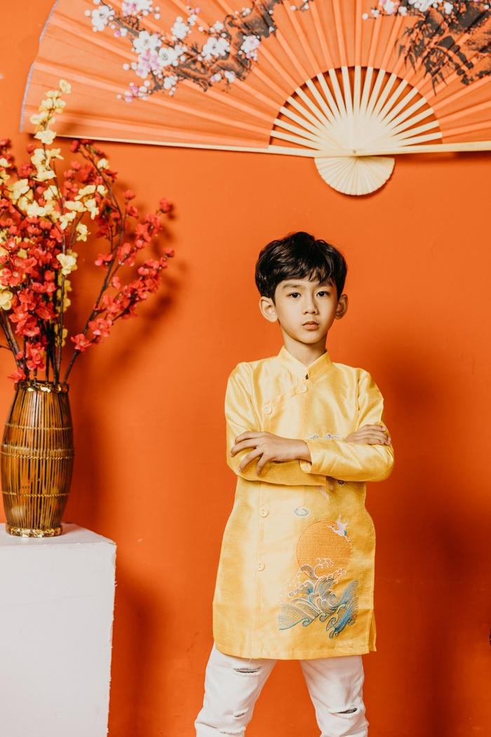Mẫu nhí Nguyễn Huy Lâm Tùng (Golden) – Gương mặt mới trong làng thời trang nhí nhưng đã gây chú ý với vẻ chuyên nghiệp