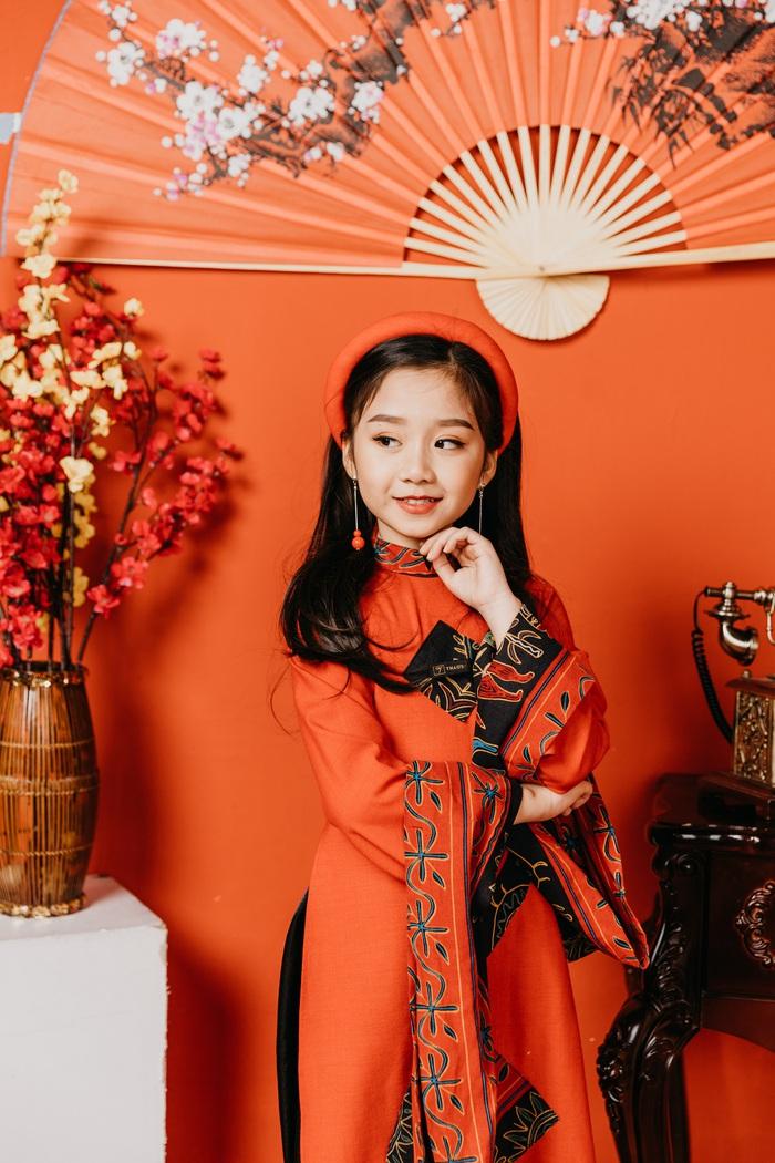 """Tài năng nhí Minh Ngọc (Ruby) - mẫu nhí được lựa chọn làm Gương mặt Đại diện """"Lễ hội Áo dài Trẻ em Việt Nam"""""""