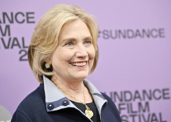 bà Hillary Clinton tại tại liên hoan phim Sundance 2020