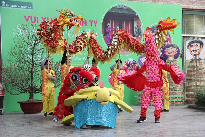 Rộn ràng sắc thái văn hóa Thái Bình ở Bảo tàng Dân tộc học Việt Nam - Ảnh 1.