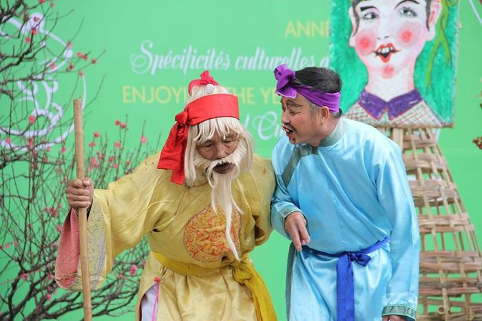 Rộn ràng sắc thái văn hóa Thái Bình ở Bảo tàng Dân tộc học Việt Nam - Ảnh 4.