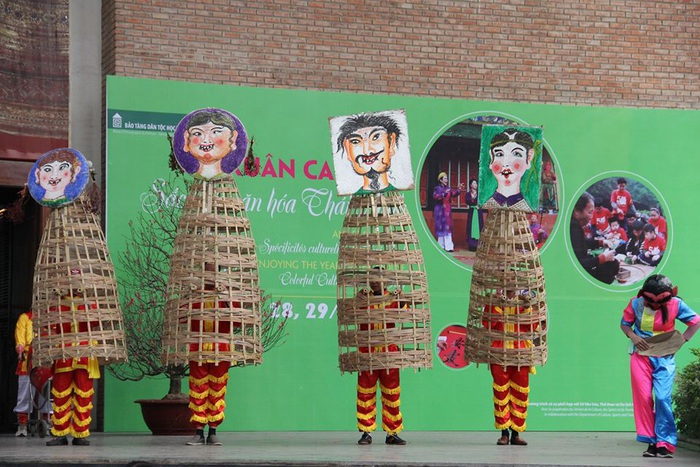 Rộn ràng sắc thái văn hóa Thái Bình ở Bảo tàng Dân tộc học Việt Nam - Ảnh 5.