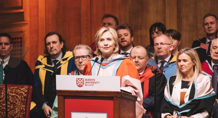Cựu ngoại trưởng Mỹ Hillary Clinton làm hiệu trưởng trường đại học - Ảnh 2.