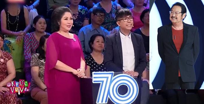 """NSND Hồng Vân, Long Nhật vỡ òa xúc động khi gặp thần tượng Nguyễn Chánh Tín trong """"Ký ức vui vẻ"""" - Ảnh 2."""