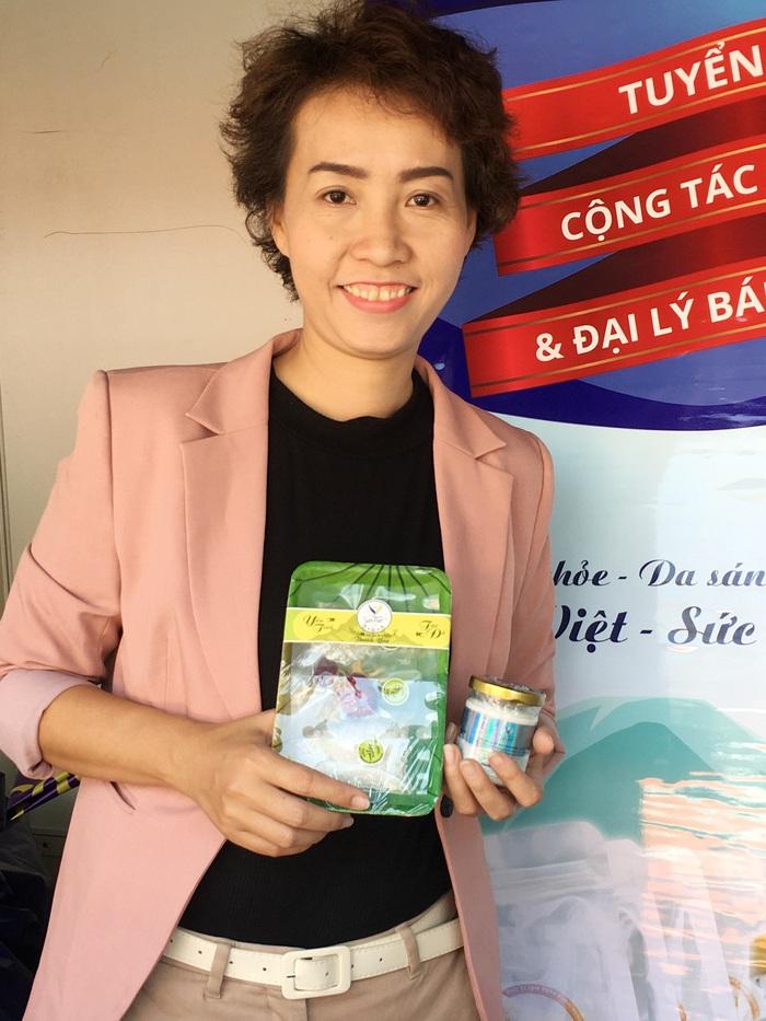 Chị Nguyễn Thị Mộng Thu, người sáng lập công ty Yến sào Hoàng Thu Yến