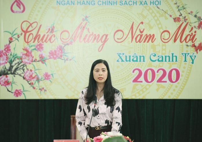 Phó Tổng Giám đốc NHCSXH cho biết: Năm 2019, NHCSXH đã hoàn thành xuất sắc nhiệm vụ được giao