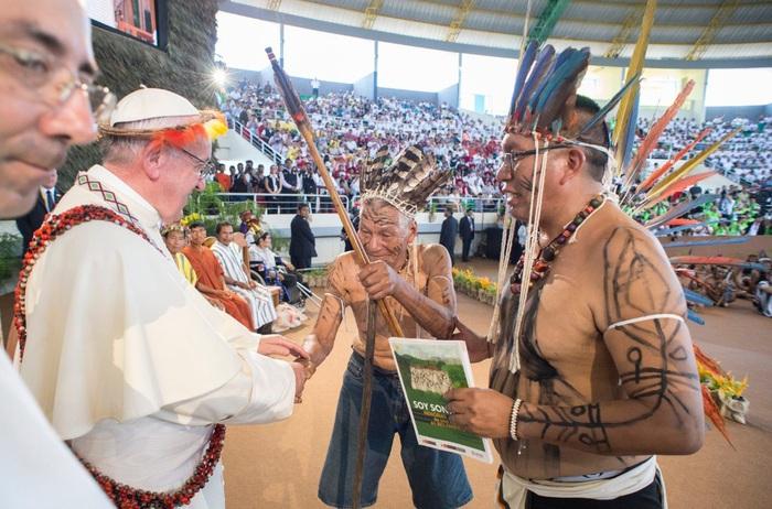 Giáo hoàng Francis ở Amazon