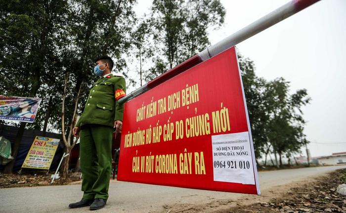 Vĩnh Phúc quyết định cách ly ổ dịch ở xã Sơn Lôi - Ảnh 1.