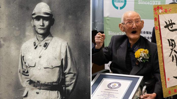 Bí quyết sống lâu của cụ ông cao tuổi nhất thế giới - Ảnh 1.