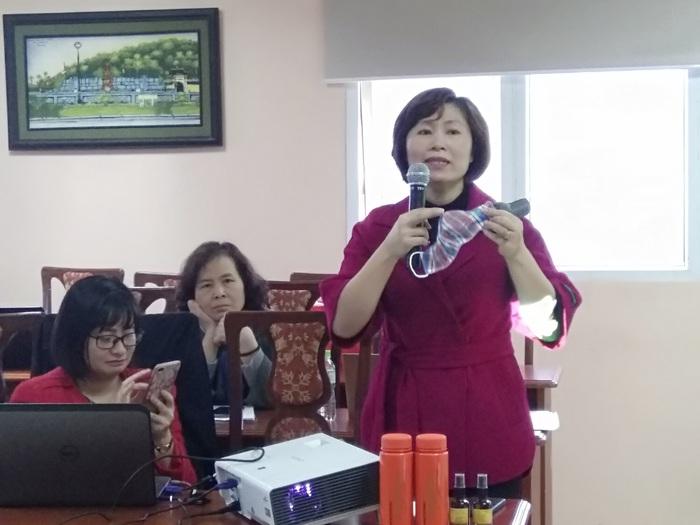 Hội Nữ trí thức Việt Nam: Giới thiệu nhiều sản phẩm khoa học công nghệ cao phòng, chống dịch Covid – 19 - Ảnh 3.