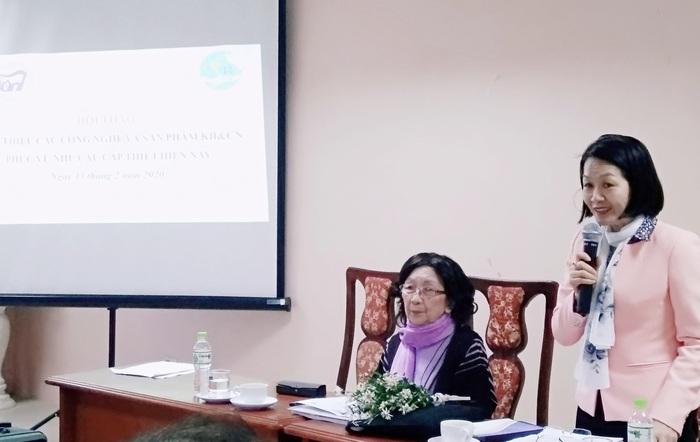 Hội Nữ trí thức Việt Nam: Giới thiệu nhiều sản phẩm khoa học công nghệ cao phòng, chống dịch Covid – 19 - Ảnh 2.