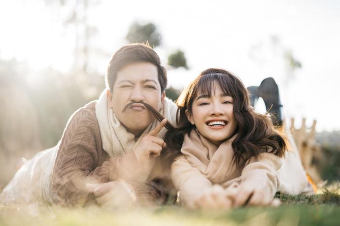 """Trường Giang – Nhã Phương """"trốn con"""" chụp ảnh Valentine ngọt ngào - Ảnh 5."""