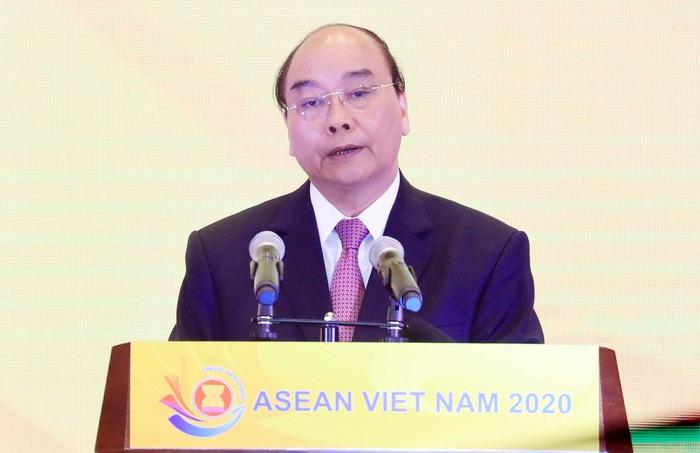 Thủ tướng ra tuyên bố của Chủ tịch ASEAN về ứng phó Covid-19 - Ảnh 1.