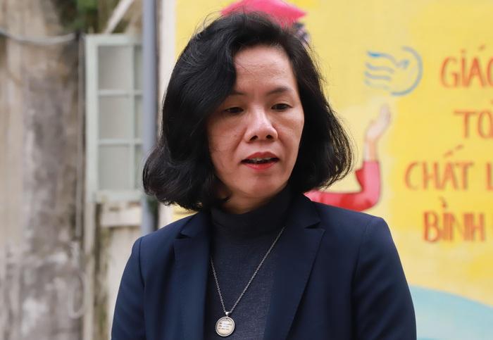 Bà Nguyễn Thị Minh Hương, Ủy viên Đoàn Chủ tịch, Trưởng ban Tuyên giáo, TƯ Hội LHPN Việt Nam