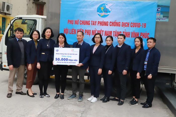 Hội LHPN Việt Nam chung tay hỗ trợ người dân vùng tâm dịch Sơn Lôi - Ảnh 4.