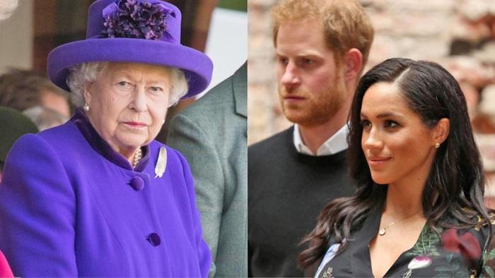 Nữ hoàng Anh Elizabeth II vừa ra lệnh cho Hoàng tử Harry và vợ là cựu diễn viên điện ảnh người Mỹ Meghan Markle