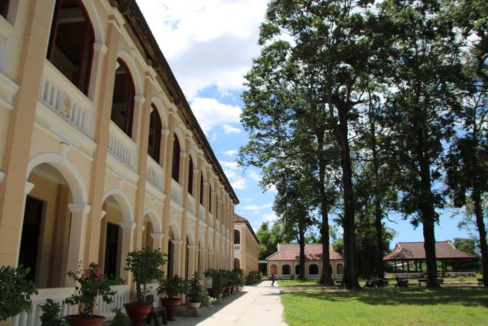 Điểm check – in mới lạ ở Tiểu chủng viện Làng Sông hút khách  - Ảnh 2.