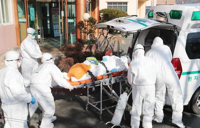 Số ca nhiễm virus corona ở Hàn Quốc ngày càng tăng