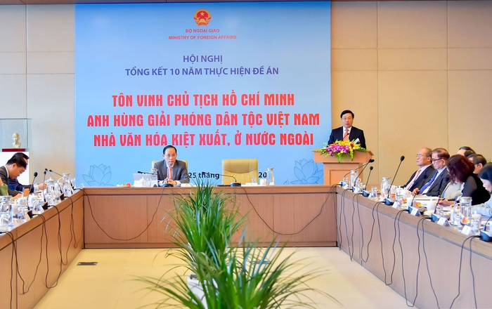 Phó Thủ tướng, Bộ trưởng Ngoại giao Phạm Bình Minh phát biểu tại Hội nghị