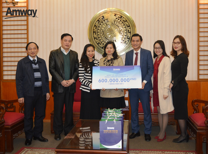 (tin PR) Amway Việt Nam chung tay cùng cộng đồng trong nỗ lực phòng chống dịch Covid-19 - Ảnh 1.