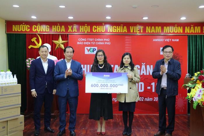 (tin PR) Amway Việt Nam chung tay cùng cộng đồng trong nỗ lực phòng chống dịch Covid-19 - Ảnh 3.