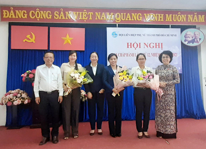 Hội LHPN TPHCM có Chủ tịch mới  - Ảnh 1.