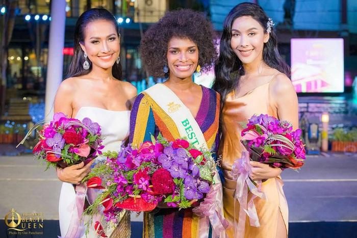 Hoa hậu chuyến giới quốc tế 2020: Hoài Sa đoạt giải Nhì Tài năng, nổi bật với áo dài  - Ảnh 2.