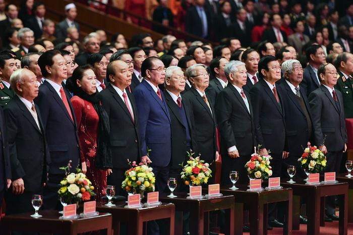 Tổng Bí thư Nguyễn Phú Trọng: 'Sự lãnh đạo của Đảng là nhân tố hàng đầu quyết định mọi thắng lợi' - Ảnh 4.