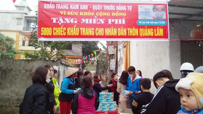 Hội LHPN Bắc Ninh vận động nhà hảo tâm tặng hơn 45 nghìn khẩu trang cho người dân phòng dịch Corona - Ảnh 2.