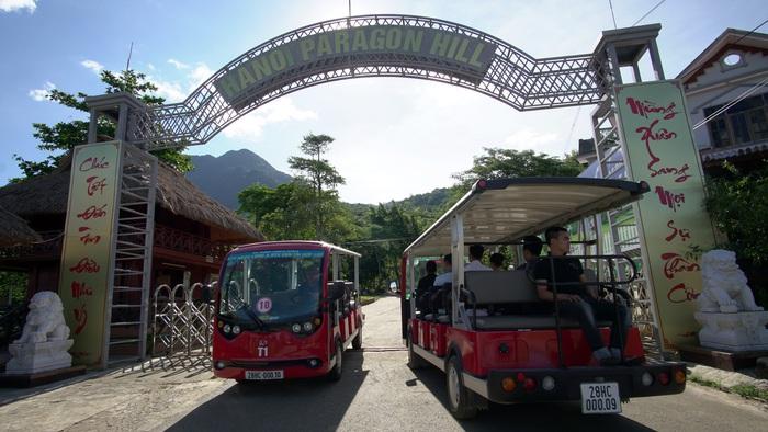 Cổng vào Paragon resort