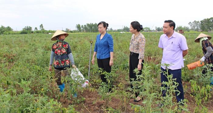 """(anh Đăng) Bắc Ninh: Hiệu quả từ Đề án """"Hỗ trợ phụ nữ khởi nghiệp"""" - Ảnh 1."""