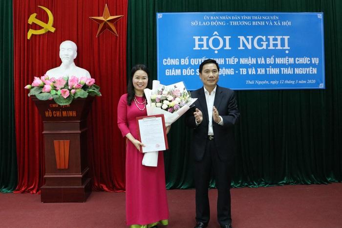 Chủ tịch Hội LHPN tỉnh Thái Nguyên được bổ nhiệm làm GĐ Sở LĐ-TB&XH - Ảnh 1.